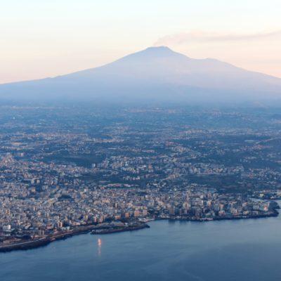 Mt. Etna Volcano