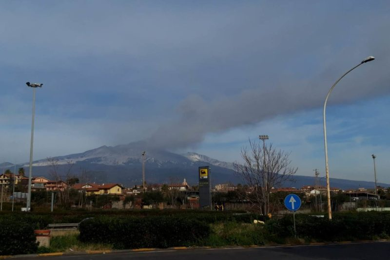 Explosive activity at Mt. Etna