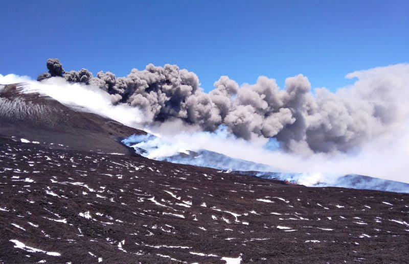 Etna eruption, May 30 to June 6, 2019