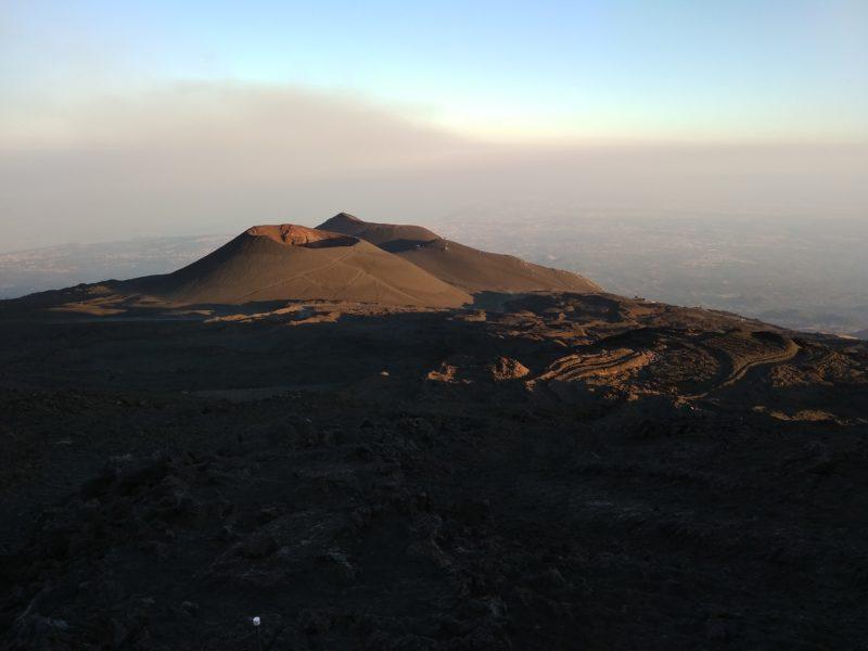 Etna: tramonto a 3000 metri